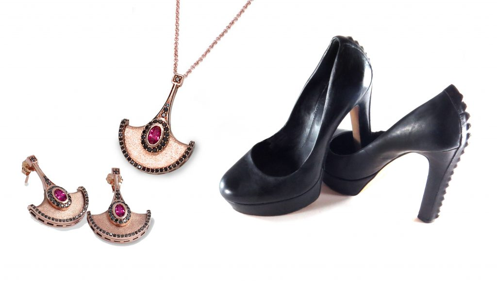 Jewelry and pumps