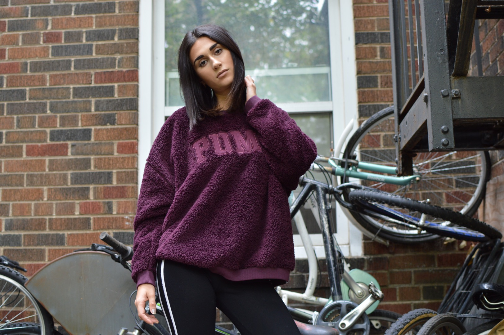 Oversized Puma sweater